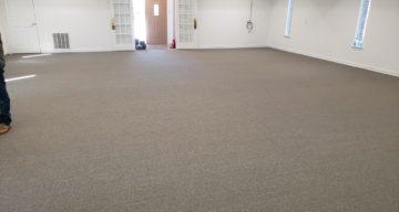 Carpet Flooring Installation for Church – Fate, TX photo