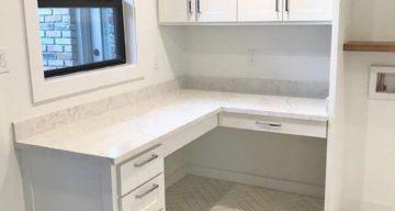 Herringbone Tile Floor for Multi Purpose Room – Richardson, TX photo