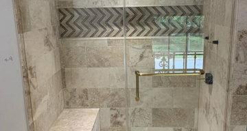 Custom Shower & Tile Project Complete – Highland Park, TX photo