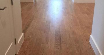 Solid Wood Floor Installation for Kessler park project – Dallas, TX photo