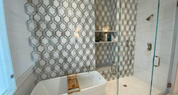 Beautiful Tile Project Complete at the Stoneleigh – Dallas, TX photo
