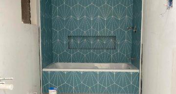 Custom Tile Installation Project Complete – Dallas, TX photo