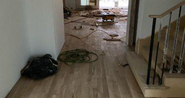 Solid Wood Floor Installation with Olerio Homes – Dallas, TX photo