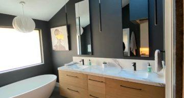 Custom Tile, Shower & Kitchen floor Project Complete – Dallas, TX photo