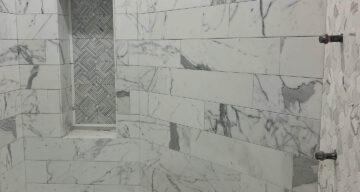 Custom Tile & Shower Project Complete – Dallas, TX photo